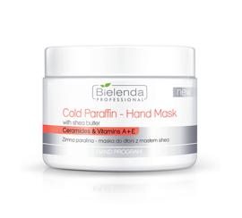 Bielenda COLD PARAFFIN HAND MASK WITH SHEA BUTTER Zimna parafina - maska do dłoni z masłem shea 150g