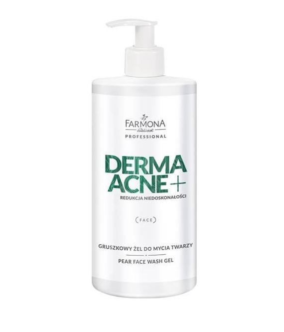 Farmona DERMAACNE + Gruszkowy żel do mycia twarzy 500ml
