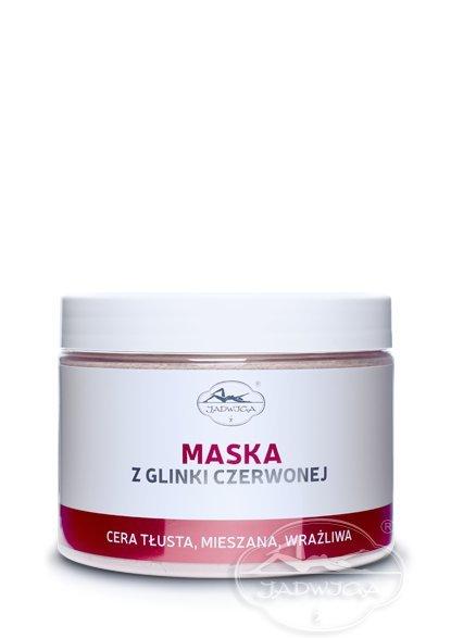 Jadwiga  Saipan Maska z Glinki Czerwonej 500 ml