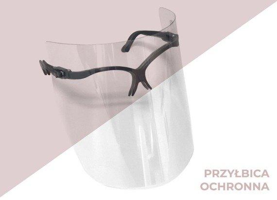 Przyłbica ochronna okularowa